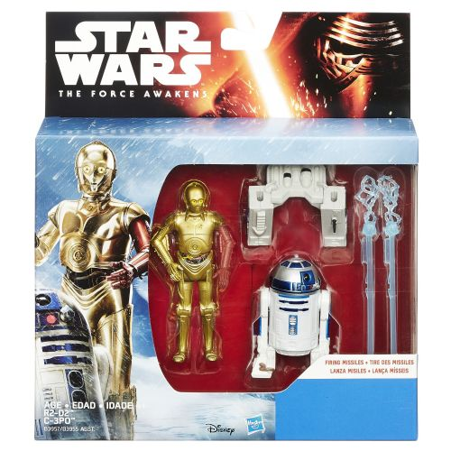 Star Wars The Force Awakens R2-D2 & C3PO Snow Mission Deluxe Pack